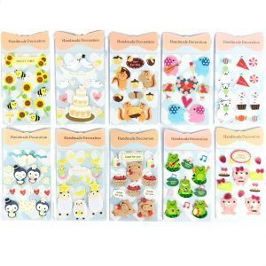 Handmade Decoration 3D Stickers (Bees,Wedding Bird,Penguin,Rabbit Birthday,Polar Bears,Frog,Piggy,Squirrel,Elephant,Pink Bear,Sheep)